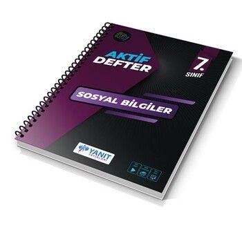 Yanıt Yayınları 7. Sınıf Aktif Defter Sosyal Bilgiler