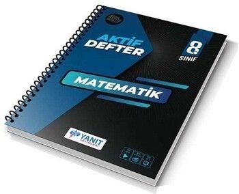 Yanıt Yayınları 8. Sınıf Aktif Defter Matematik