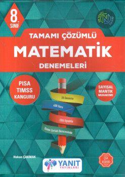 Yanıt Yayınları 8. Sınıf Matematik Denemeleri Tamamı Çözümlü