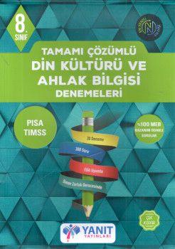Yanıt Yayınları 8. Sınıf Din Kültürü ve Ahlak Bilgisi Denemeleri Tamamı Çözümlü