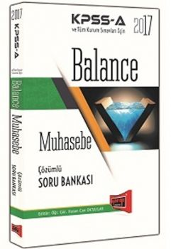 Yargı 2017 KPSS A Grubu Balance Muhasebe Çözümlü Soru Bankası