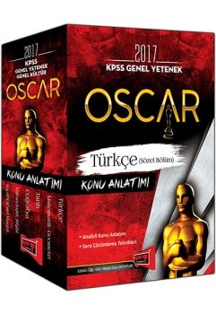 Yargı 2017 KPSS Genel Yetenek Genel Kültür Oscar Konu Anlatımlı Modüler Set