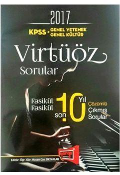 Yargı 2017 KPSS Genel Yetenek Genel Kültür Virtüöz Son 10 Yıl Çözümlü Fasikül Fasikül Çıkmış Sorular