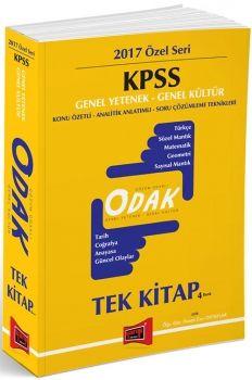 Yargı 2017 KPSS ODAK Genel Yetenek Genel Kültür Tek Kitap Konu Özetli Analitik Anlatımlı Soru Çözümleme Teknikleri