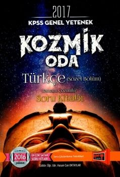 Yargı 2017 KPSS Türkçe Kozmik Oda Tamamı Çözümlü Soru Kitabı