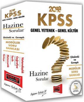Yargı 2018 KPSS Genel Yetenek GK Hazine Sorular Çözümlü ve Cevaplı Modüler Soru Bankası