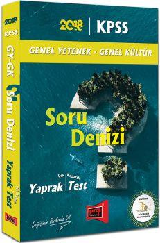 Yargı 2018 KPSS Genel Yetenek Genel Kültür Soru Denizi Çek Kopartlı Yaprak Test