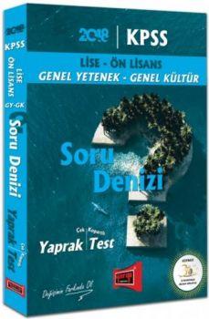 Yargı 2018 KPSS Lise Ön Lisans Genel Yetenek GenelKültür Soru Denizi Çek Kopartlı Yaprak Test