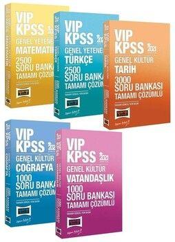 Yargı 2021 KPSS VIP Genel Yetenek Genel Kültür 10000 Soru Bankası 5 li Set