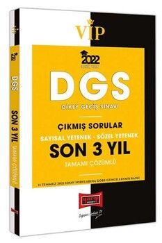 Yargı 2022 DGS VIP Sayısal Sözel Yetenek Son 3 Yıl Tamamı Çözümlü Çıkmış Sorular