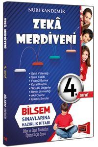 Yargı 4. Sınıf Zeka Merdiveni Bilsem Sınavlarına Hazırlık Kitabı