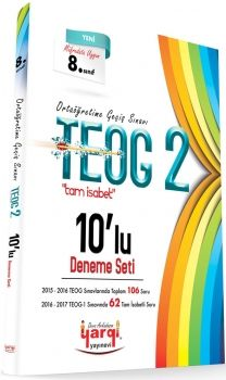 Yargı Ders Arkadaşım TEOG 2 Tam İsabet 10 lu Deneme Seti