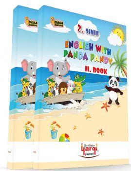 Yargı Ders Arkadaşım 2. Sınıf English With Panda Pandy 2 Kitap CD\'li