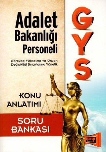 Yargı GYS Adalet Bakanlığı Konu Anlatımlı Soru Bankası