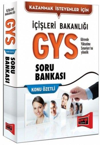 Yargı GYS İçişleri Bakanlığı Konu Özetli Soru Bankası