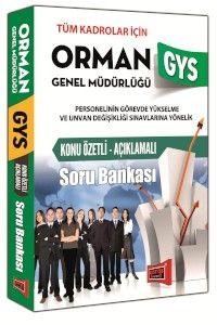 Yargı GYS Orman Genel Müdürlüğü Konu Özetli Açıklamalı Soru Bankası