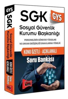 Yargı GYS SGK Sosyal Güvenlik Kurumu Başkanlığı Konu Özetli Açıklamalı Soru Bankası