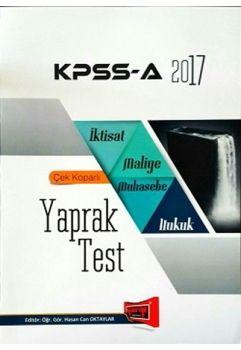 Yargı KPSS A Grubu İktisat Maliye Muhasebe Hukuk Çek Kopar Yaprak Test