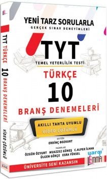 Yargı Lemma TYT Türkçe Video Çözümlü 10 Branş Denemeleri