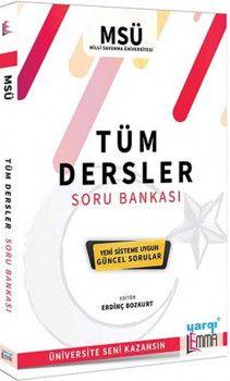 Yargı Lemma YayınlarıMilli Savunma Üniversitesi Tüm Dersler Soru Bankası