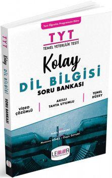 Yargı Lemma Yayınları TYT Kolay Dil Bilgisi Soru Bankası