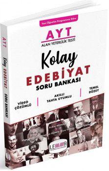 Yargı Lemma Yayınları AYT Kolay Edebiyat Soru Bankası