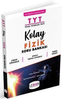 Yargı Lemma Yayınları TYT Kolay Fizik Soru Bankası