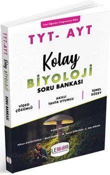Yargı Lemma Yayınları TYT AYT Kolay Biyoloji Soru Bankası