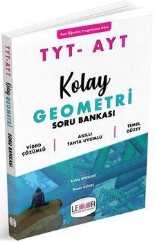 Yargı Lemma Yayınları TYT AYT Kolay Geometri Soru Bankası