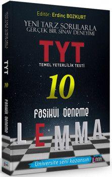 Yargı Lemma Yayınları YKS 1. Oturum TYT 10 Fasikül Deneme