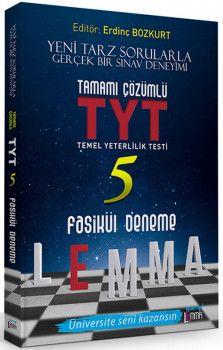 Yargı Lemma Yayınları YKS 1. Oturum TYT Tamamı Çözümlü 5 Fasikül Deneme