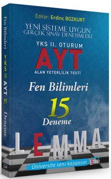 Yargı Lemma YKS 2. Oturum AYT Fen Bilimleri 15 Deneme