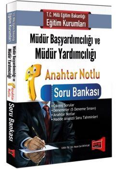Yargı  MEB Müdür Başyardımcılığı ve Müdür Yardımcılığı Anahtar Notlu Soru Bankası