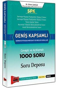 Yargı SPK Geniş Kapsamlı Sermaye Piyasası Mevzuatı ve Meslek Kuralları Cevaplı ve Açıklamalı 1000 Soru Deposu