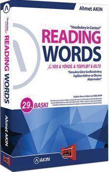 Yargı Yayınları Reading Words for YDS YÖKDİL TOEFL IBT IELTS 28. Baskı