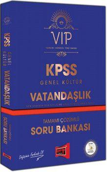 Yargı Yayınları KPSS Genel Kültür Vatandaşlık VIP Tamamı Çözümlü Soru Bankası