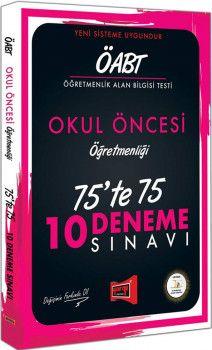 Yargı Yayınları ÖABT Okul Öncesi Öğretmenliği 75te 75 10 Deneme Sınavı