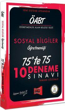 Yargı Yayınları ÖABT Sosyal Bilgiler Öğretmenliği 75te 75 10 Deneme Sınavı