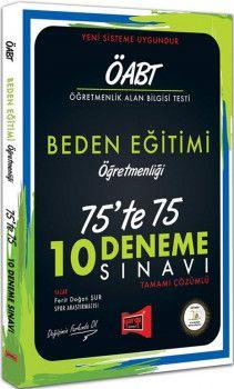 Yargı Yayınları ÖABT Beden Eğitimi Öğretmenliği 75te 75 10 Deneme Sınavı
