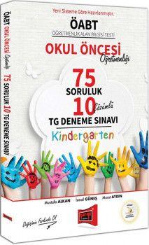 Yargı Yayınları ÖABT Okul Öncesi Öğretmenliği 75 Soruluk Çözümlü 10 TG Deneme Sınavı
