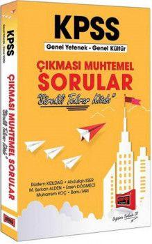 Yargı Yayınları KPSS Genel Yetenek Genel Kültür Çıkması Muhtemel Sorular