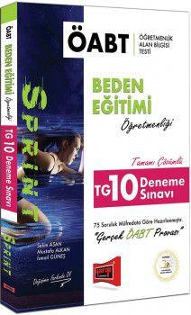 Yargı Yayınları ÖABT SPRINT Beden Eğitimi Öğretmenliği Tamamı Çözümlü TG 10 Deneme Sınavı