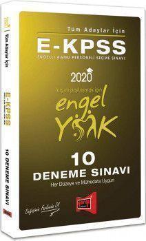 Yargı Yayınları 2020 EKPSS Tüm Adaylar İçin 10 Deneme Sınavı