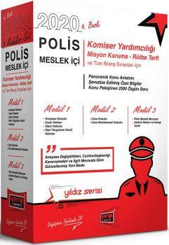 Yargı Yayınları 2020 Polis Meslek İçi Sınavlarına Hazırlık Konu Anlatımlı Modüler Set 6. Baskı