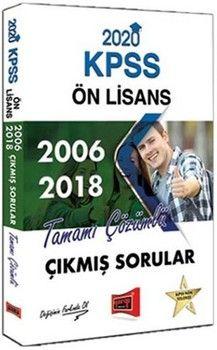Yargı Yayınları 2020 KPSS Ön Lisans 2006 2018 Tamamı Çözümlü Çıkmış Sorular
