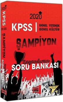Yargı Yayınları 2020 KPSS Genel Yetenek Genel Kültür ŞAMPİYON Kazandıran Soru Bankası