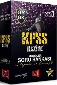 Yargı Yayınları 2020 KPSS Genel Yetenek Genel Kültür HAZİNE Çözümlü ve Cevaplı Modüler Soru Bankası Seti