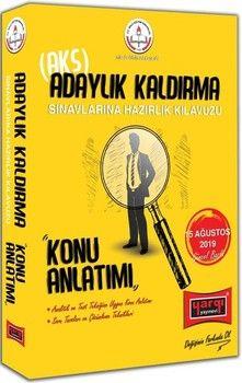 Yargı Yayınları MEB Adaylık Kaldırma AKS Sınavlarına Hazırlık Kılavuzu Konu Anlatımı