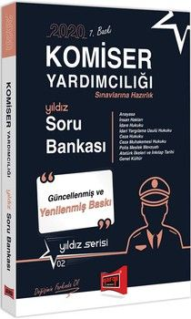 Yargı Yayınları 2020 Komiser Yardımcılığı Sınavlarına Hazırlık Soru Bankası
