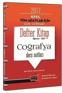 Yargı Yayınları 2017 KPSS Genel Kültür Tüm Adaylar İçin Defter Kitap Coğrafya Ders Notları